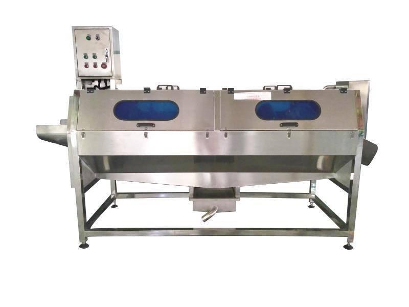 厂家供应柚子清洗机,无损伤、无死角柚子刷洗机