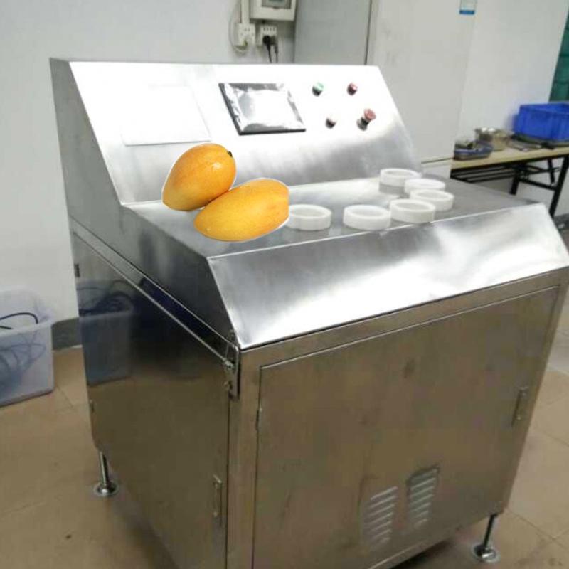 工业型芒果切片机 - 秒切16片,代替30人,片片正圆
