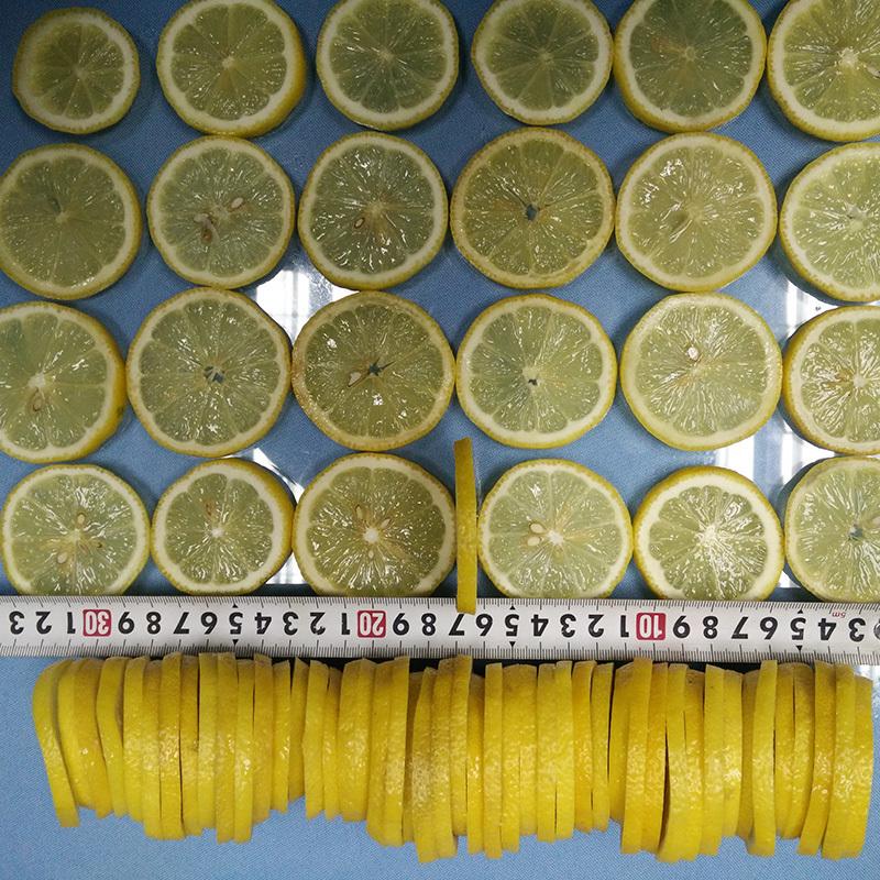 柠檬削皮机 - 代替15人,削出果肉+柠檬皮